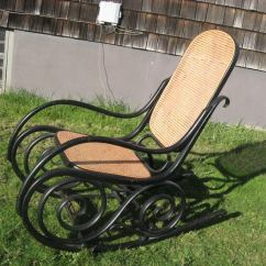Oversized Aluminum Rocking Chair Covers For Dining Room Chairs Uk 19thc Bentwood By J Kohn Thonet