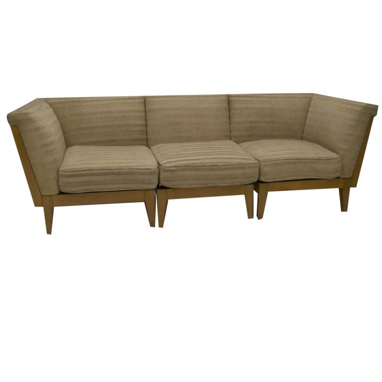 de sede sofa vintage freedom benson review modern upholstered birch sectional by russel wright at 1stdibs