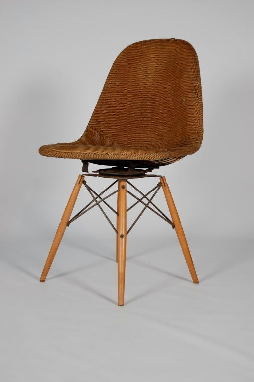adrian pearsall lounge chair best computer for gaming eames swivel dowel legged chair; dkw-1 at 1stdibs