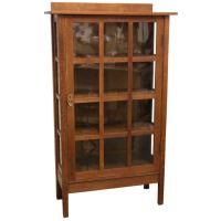 Gustav Stickley China Cabinet at 1stdibs