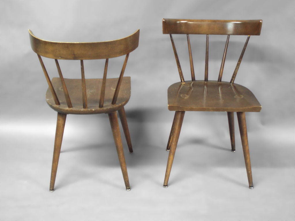 maple dining room chairs ikea poang chair cover set of twelve by paul mccobb at 1stdibs