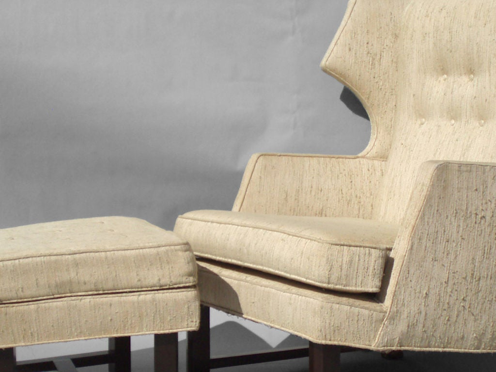 Reading Chair And Ottoman Gentleman 39s Reading Chair With Ottoman In The Style Of