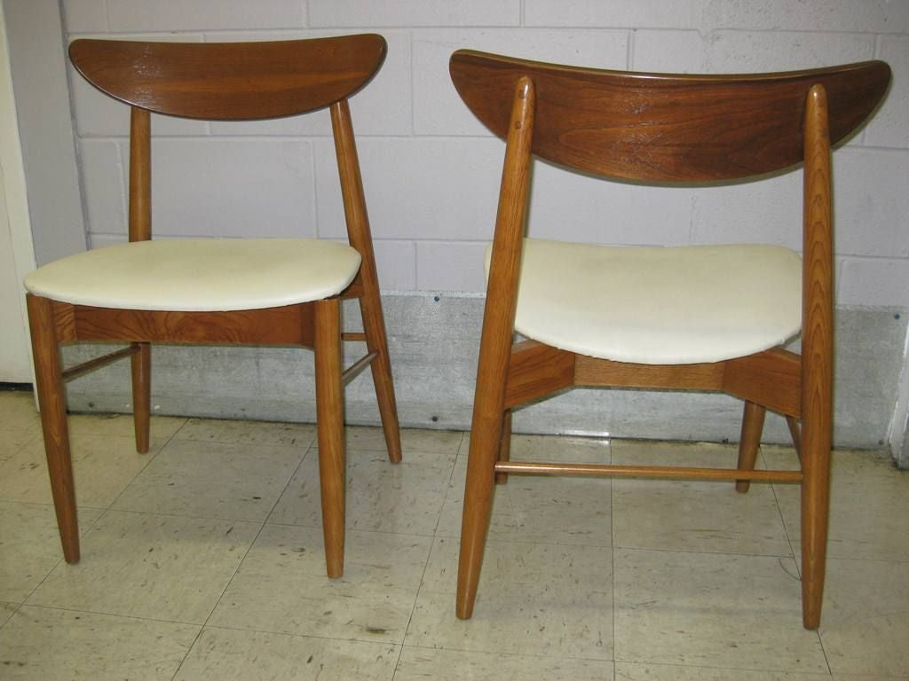 Mid Century Dining Chair Very Comfortable Set Of 10 Mid Century Modern Dining