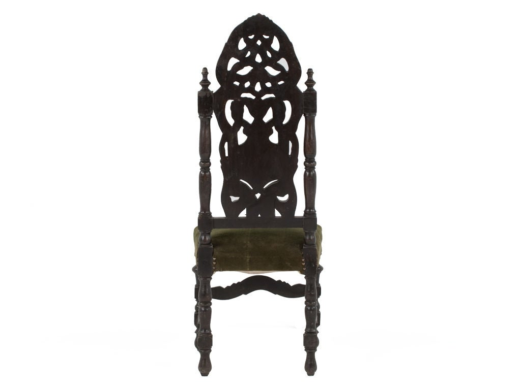 wood high chair for sale spool ethan allen wooden back at 1stdibs