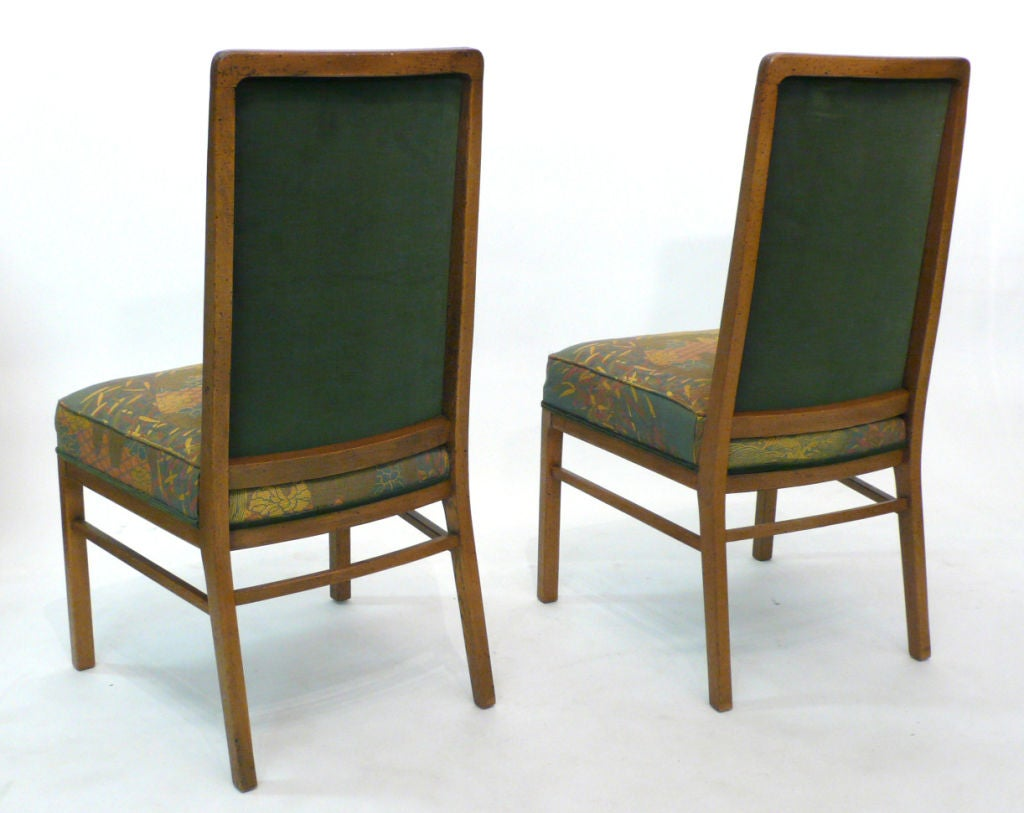 Drexel Chairs Set Of 8 Exquisitely Upholstered Drexel Dining Chairs At