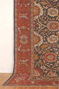 Antique Sultanabad Carpet 12'6 x 15'4 at 1stdibs