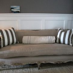 Down Wrapped Cushion Sofas White Leather Sofa Dallas Tx Antique French In Belgian Linen And At ...