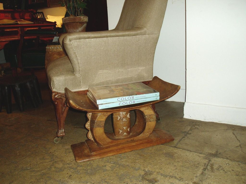 stool chair ghana patio chairs with footrests asante side table small at 1stdibs