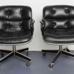 Pollock Executive Chair Replica Nursery Australia Pair Of Charles Desk Chairs At 1stdibs