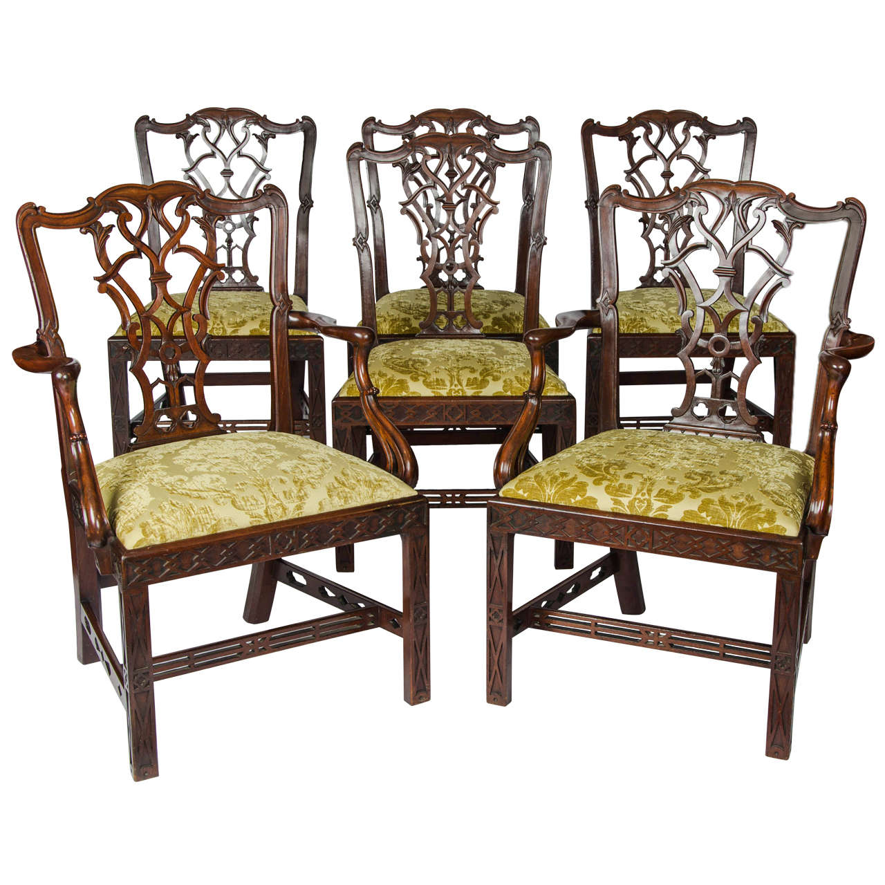 set of six dining chairs for sale fisher price rocking chair 19th century centennial