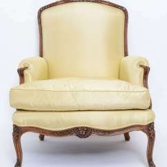 French Bergere Chair Drafting Chairs With Arms Pair Of At 1stdibs
