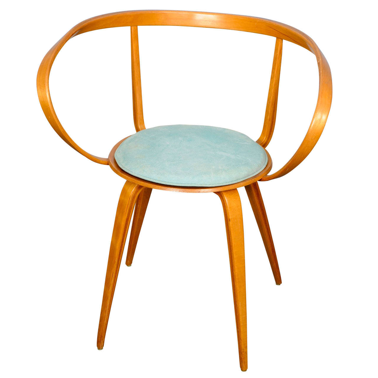 Pretzel Chair Pretzel Chair With Armrests By George Nelson At 1stdibs