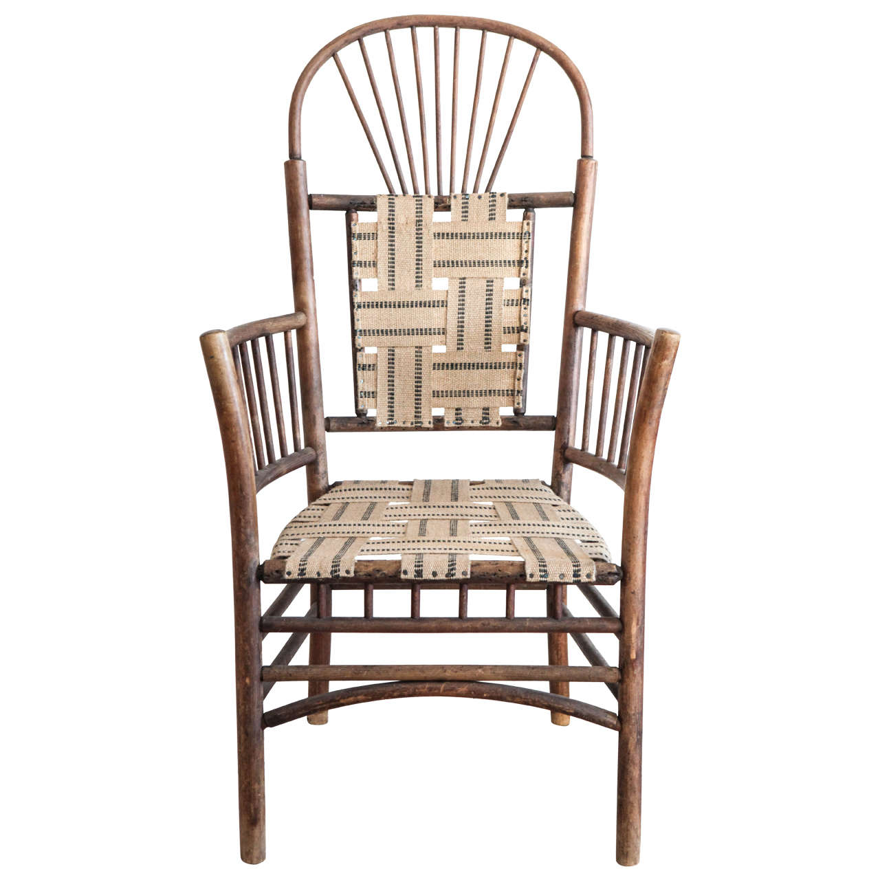 Windsor Style Chairs Windsor Style Rustic Armchair At 1stdibs