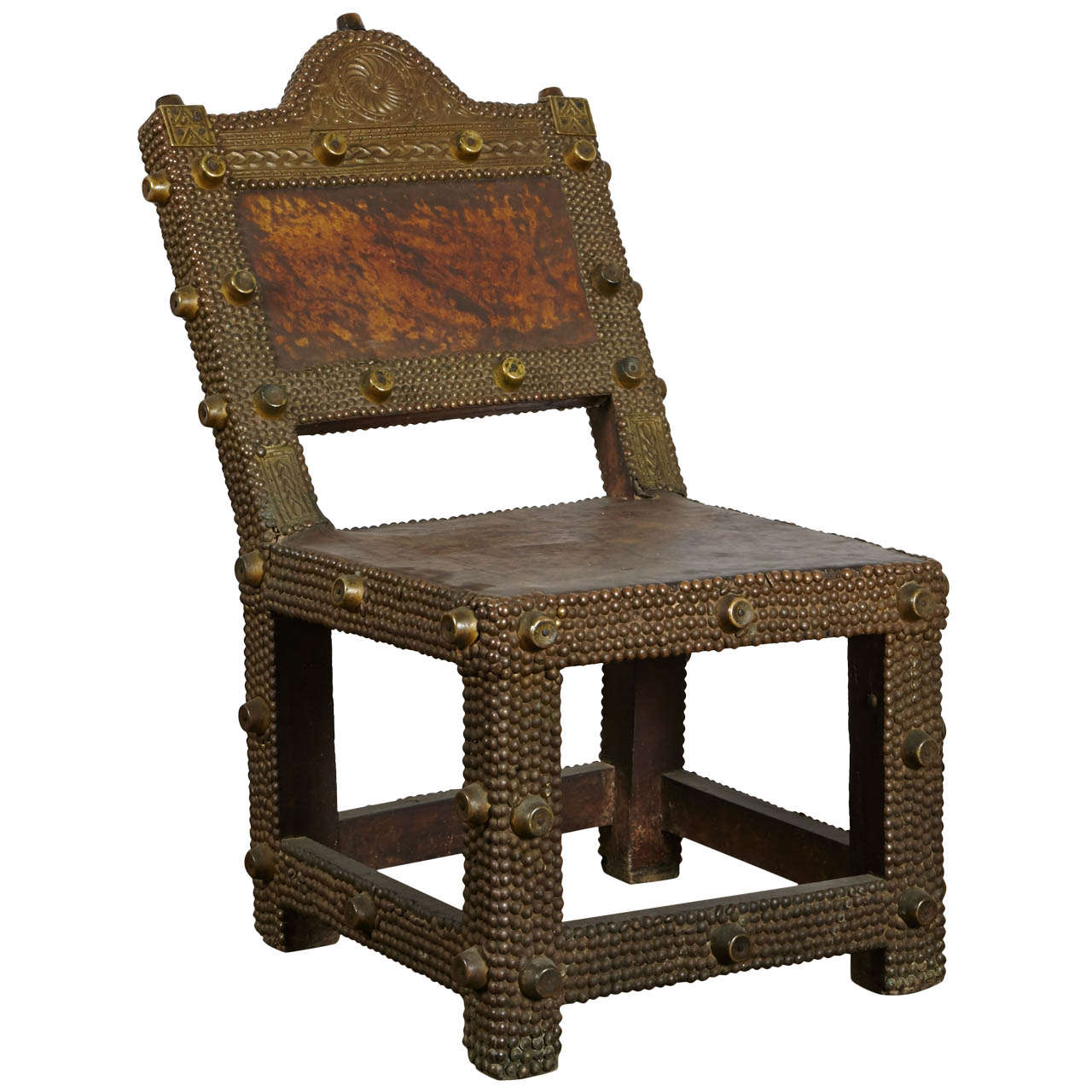 Chair King Sale Great Ashanti King 39s Chair At 1stdibs