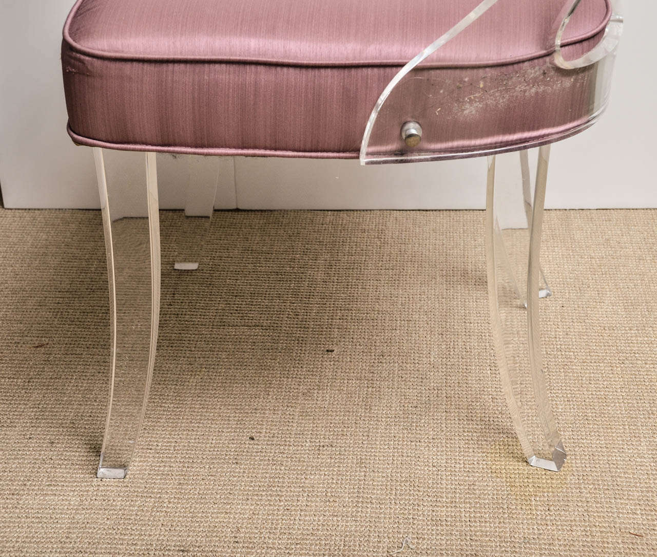 clear desk chairs tables and meaning vintage lucite chair at 1stdibs