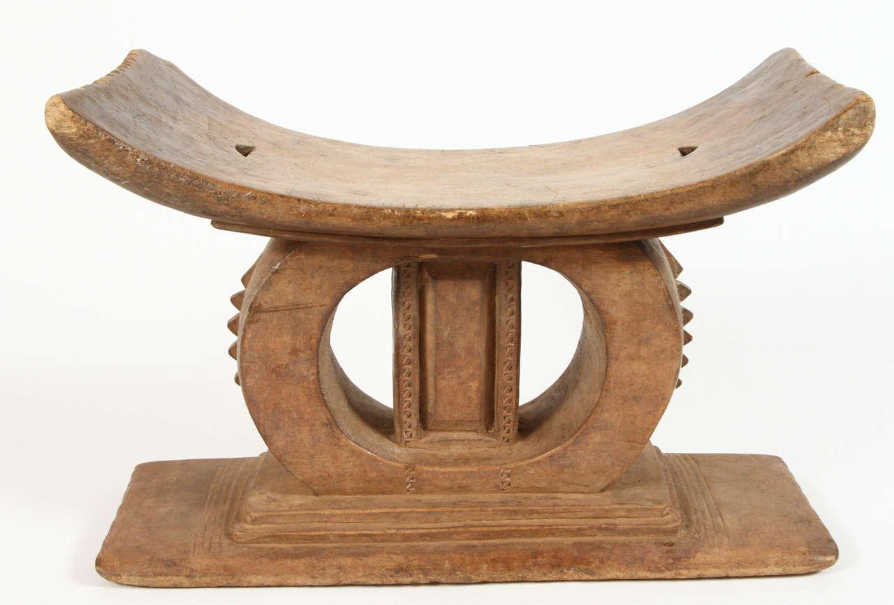 stool chair ghana small recliner chairs african ashanti at 1stdibs