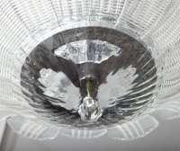 Vintage Murano Glass Flushmount Light Fixture at 1stdibs