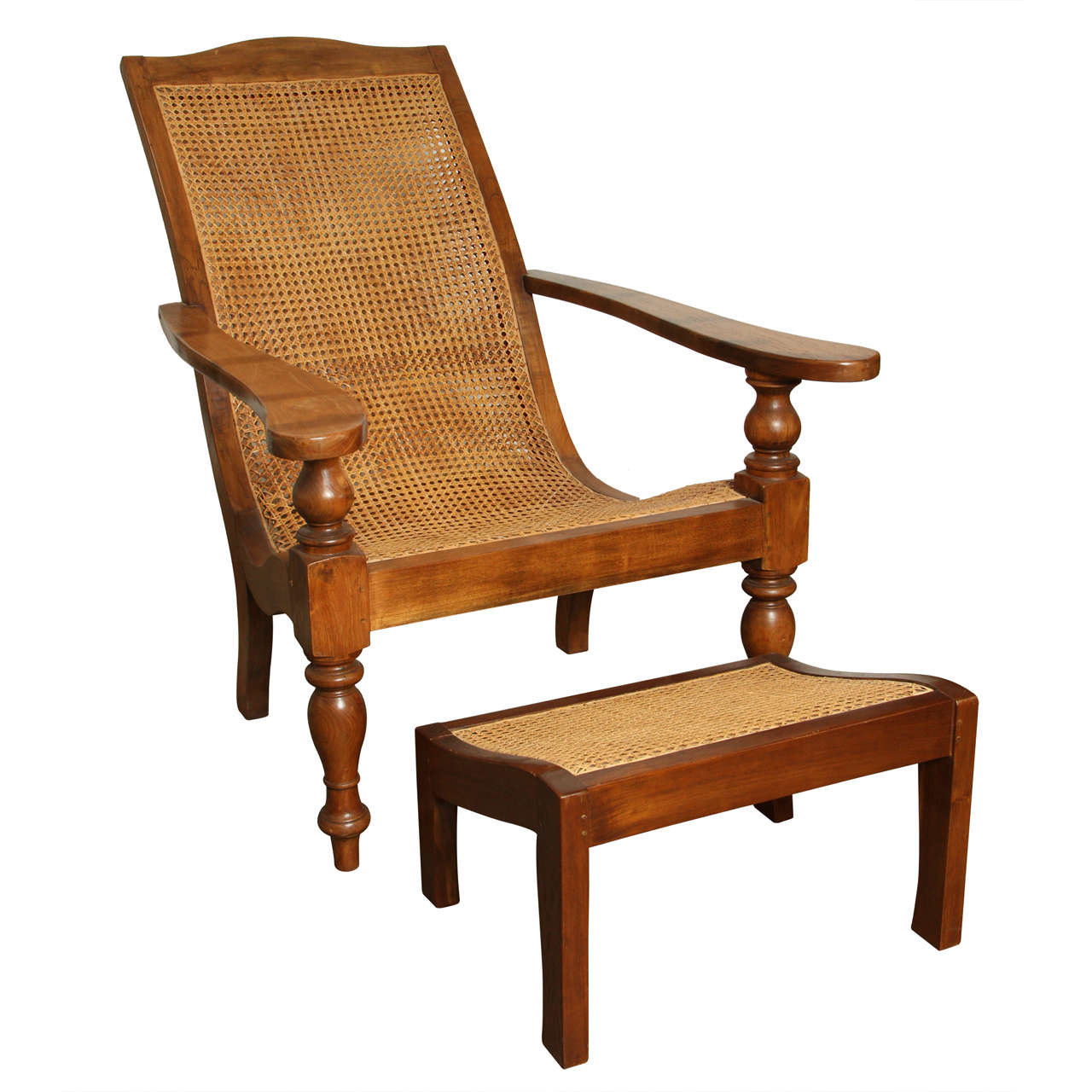 plantation style chairs best ferdinand in anglo indian chair and ottoman at 1stdibs for sale