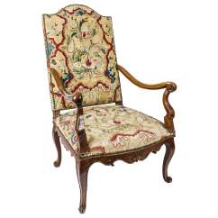 Bergere Chairs For Sale Wicker Office Chair 18th Century French Needlework At 1stdibs