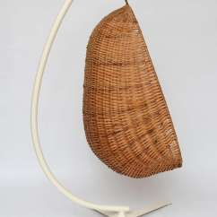 Hanging Wicker Chair Accessories Design Egg At 1stdibs American For Sale