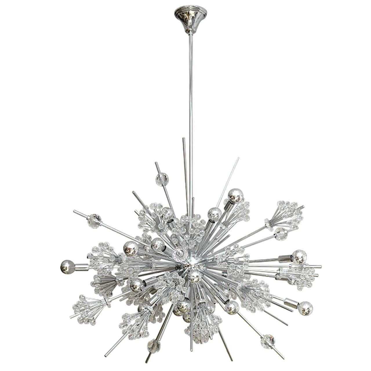 Swarovski Crystal Sputnik Chandelier At 1stdibs