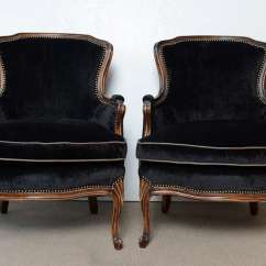 Bergere Chairs Rocking Chair Runners Replacement French Vintage Pair Of Louis Xv At 1stdibs
