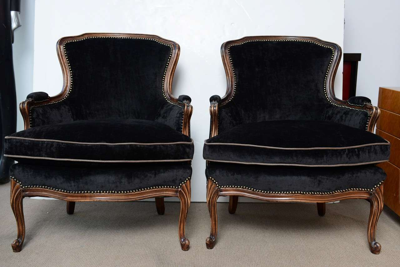 bergere chairs accent swivel chair uk french vintage pair of louis xv at 1stdibs