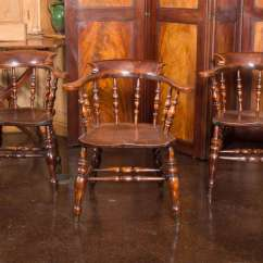 Captain Chairs Dining Room Ikea Lerhamn Chair Covers Set Of 6 English 39s Circa 1860 For Sale At