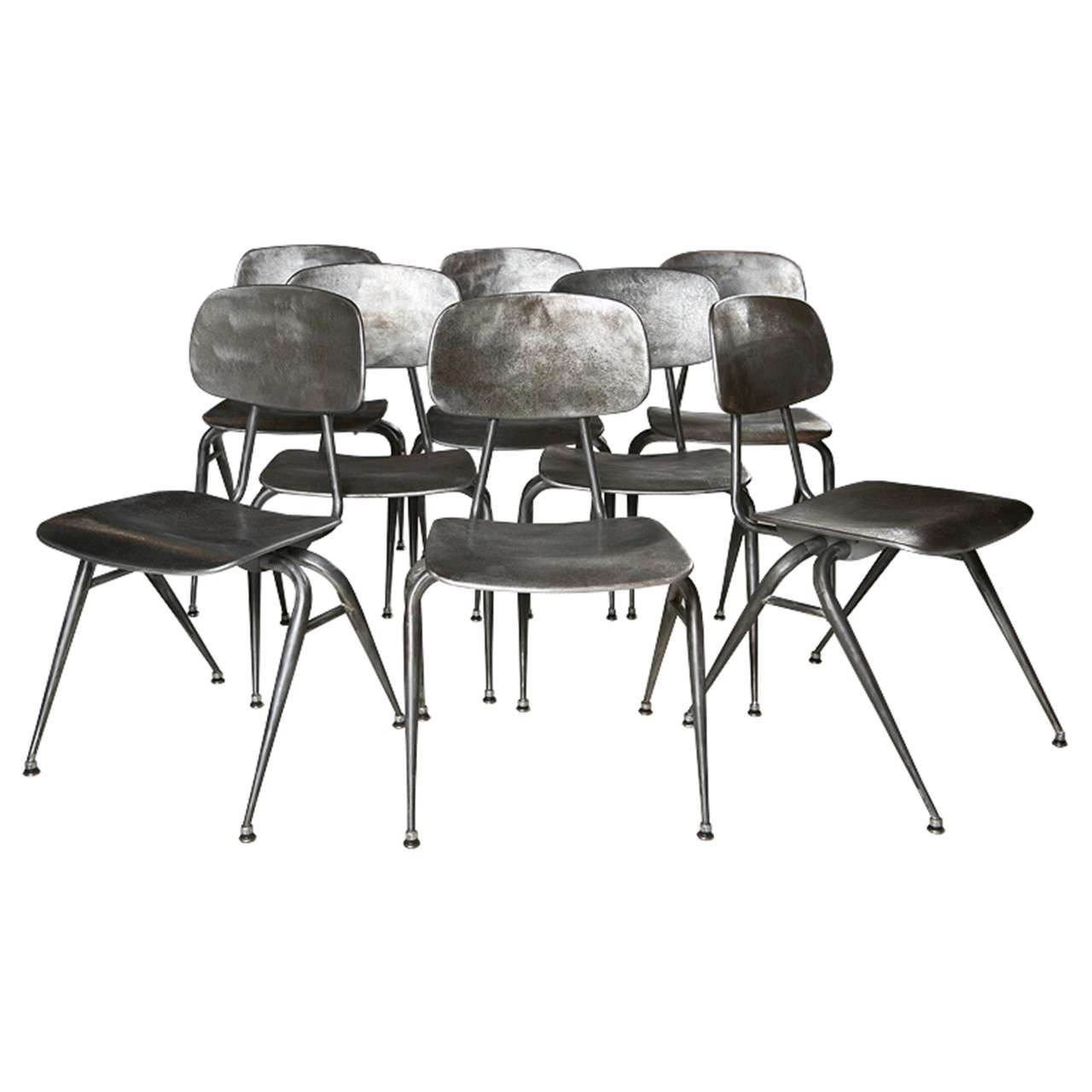 modern metal chairs sonoma anti gravity chair review mid century at 1stdibs