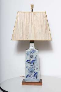 Mexican Ceramic Table Lamp at 1stdibs
