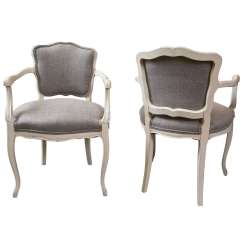 Low Back Dining Chairs Comfortable Patio Set Of 6 Antique French Arm At 1stdibs