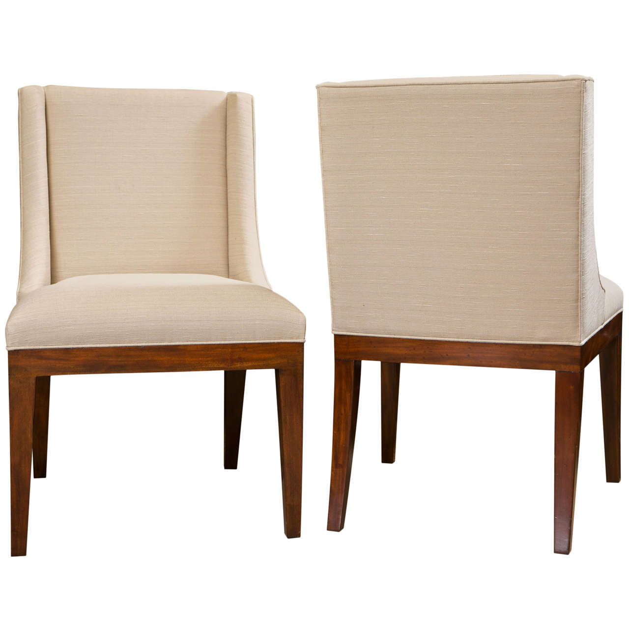 dining chairs set of 4 target stainless steel designs 6 classic modern upholstered at 1stdibs