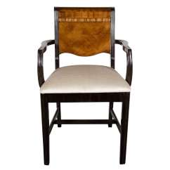 Desk Chair York Tufted Chairs For Sale Machine Age Art Deco Streamlined Design Arm