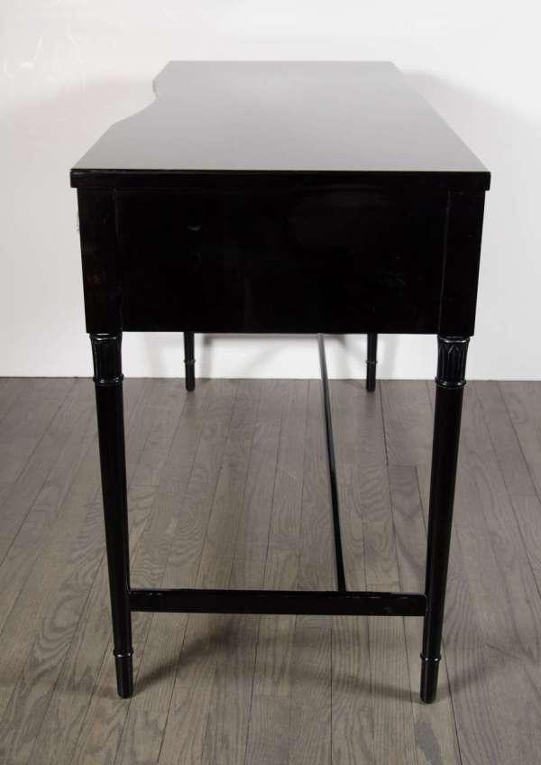 1940s Hollywood Regency Style Three-drawer Desk Vanity