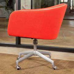 Red Office Chair No Wheels Relax Recliner Alexander Girard Swivel For Sale At 1stdibs
