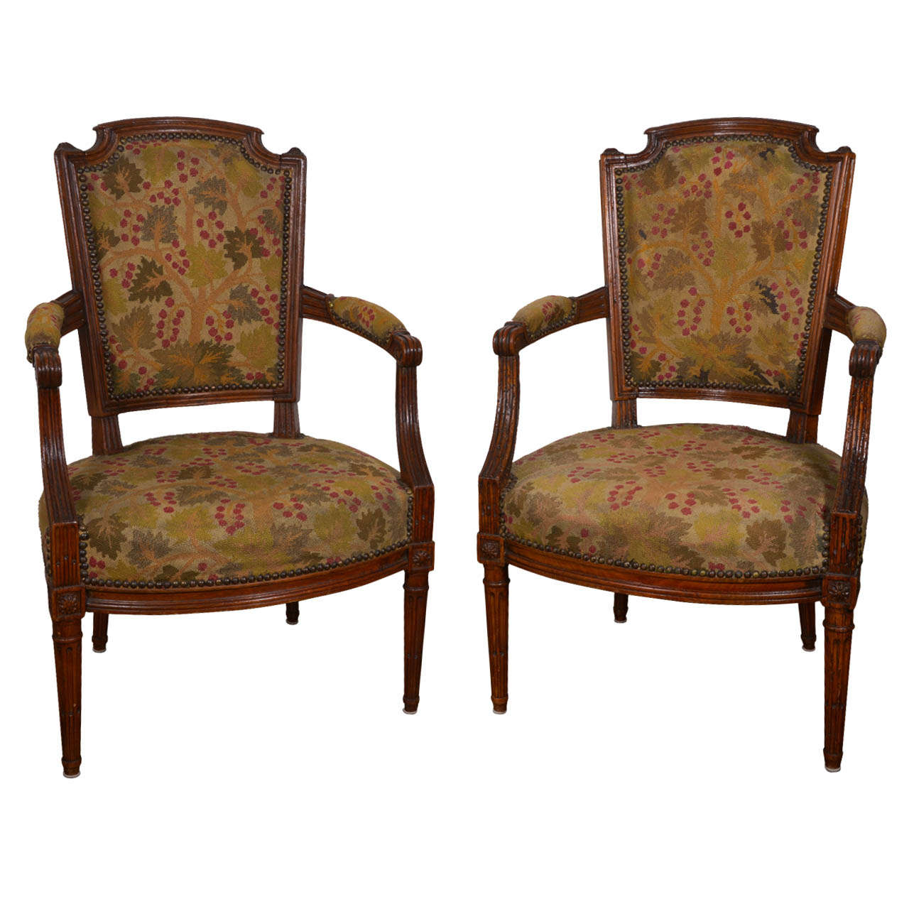antique needlepoint chair rentals near me 18th century french louis xvi style chairs with
