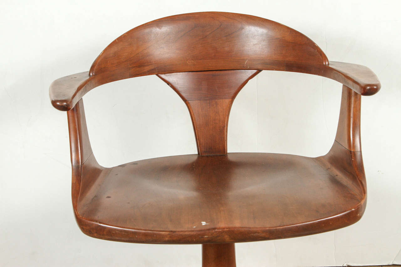 heywood wakefield dining table and chairs chair design long with four captain at