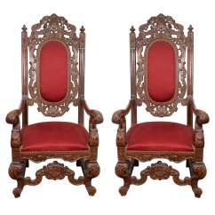 Throne Chair For Sale Position Stand Antique Chairs Furniture