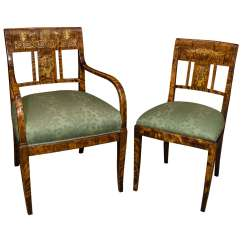 Unusual Dining Chair Folding Covers Spandex Set Of Six French Charles X Chairs At 1stdibs