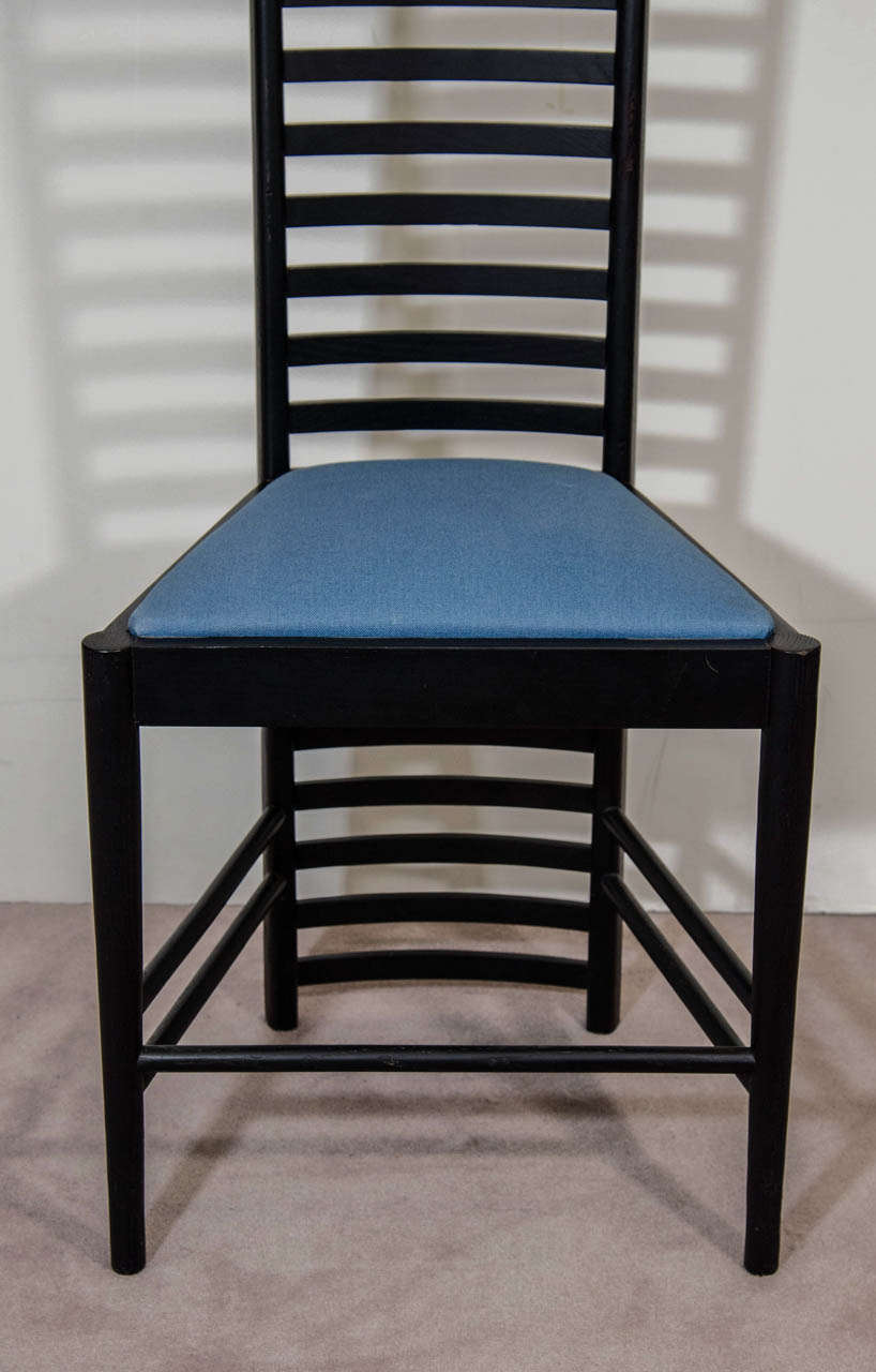charles rennie mackintosh willow chair old wooden church chairs a hill house high back by cassina at 1stdibs