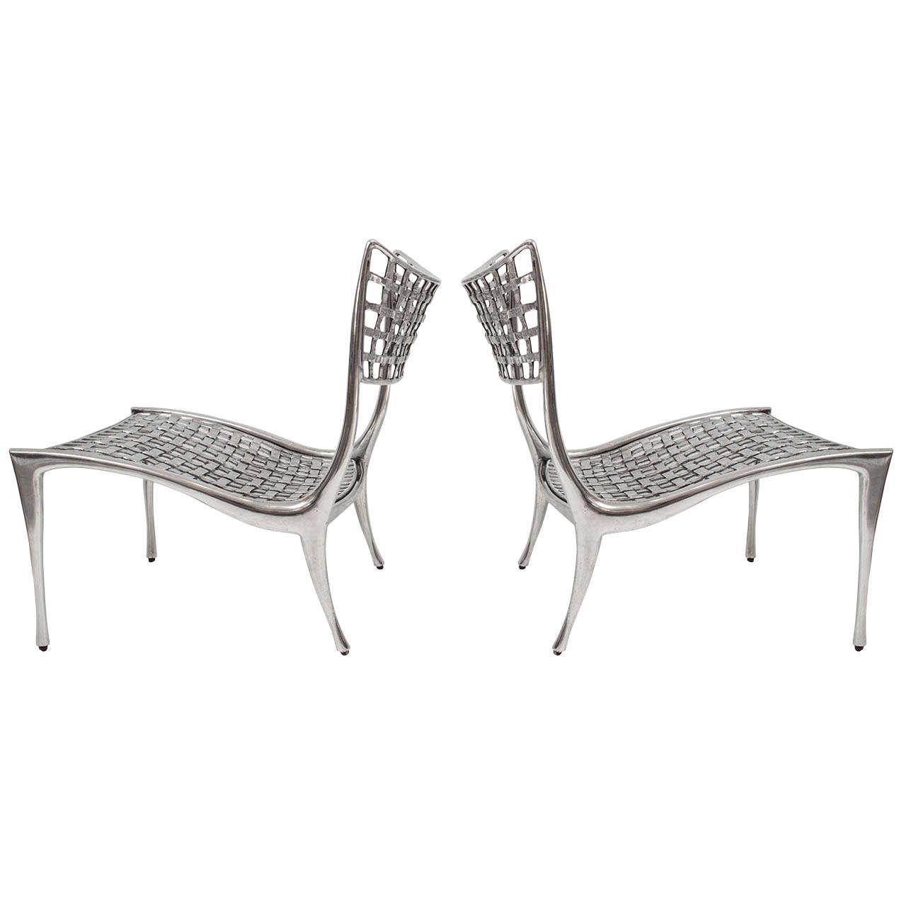 Dan Johnson Gazelle Lounge Chairs At 1stdibs
