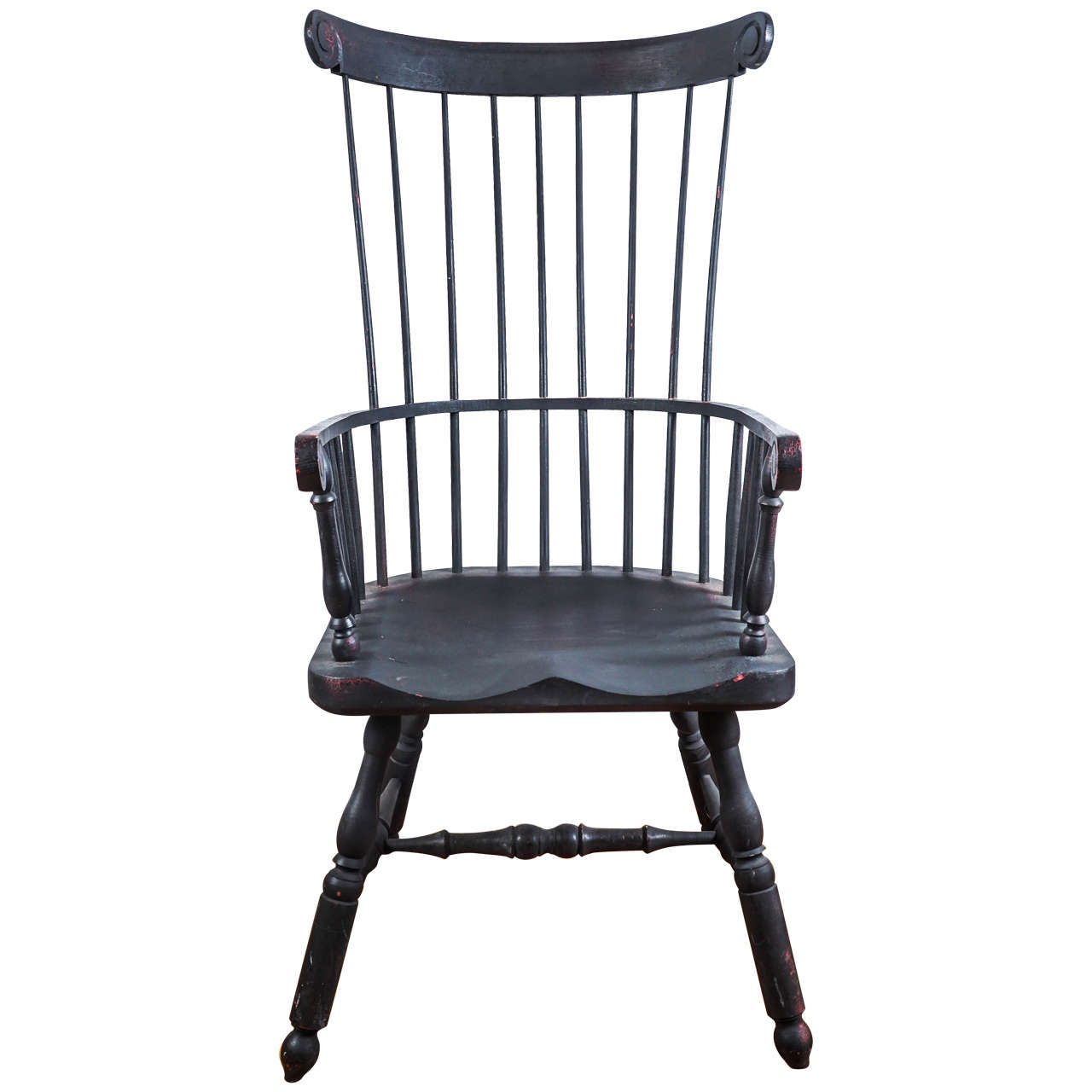 Windsor Chairs Black High Back Windsor Chair