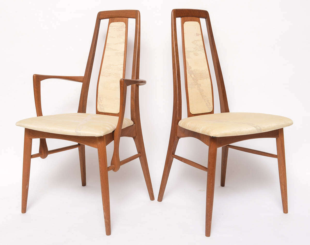 Mcm Chair Koefoeds Danish Teak Mcm Dining Table With Eight Chairs At