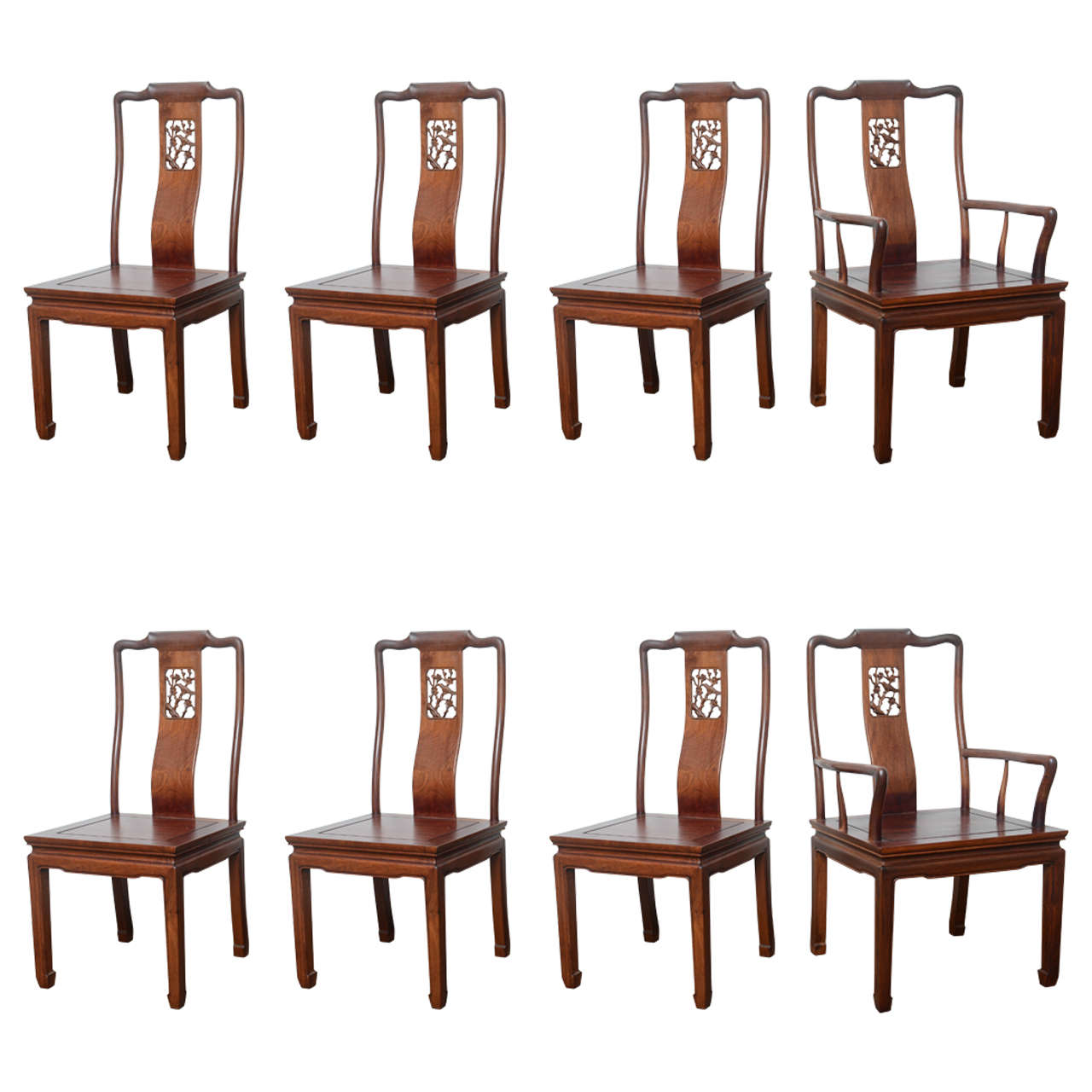 dining chair styles antique kitchen chairs set of eight vintage in the asian