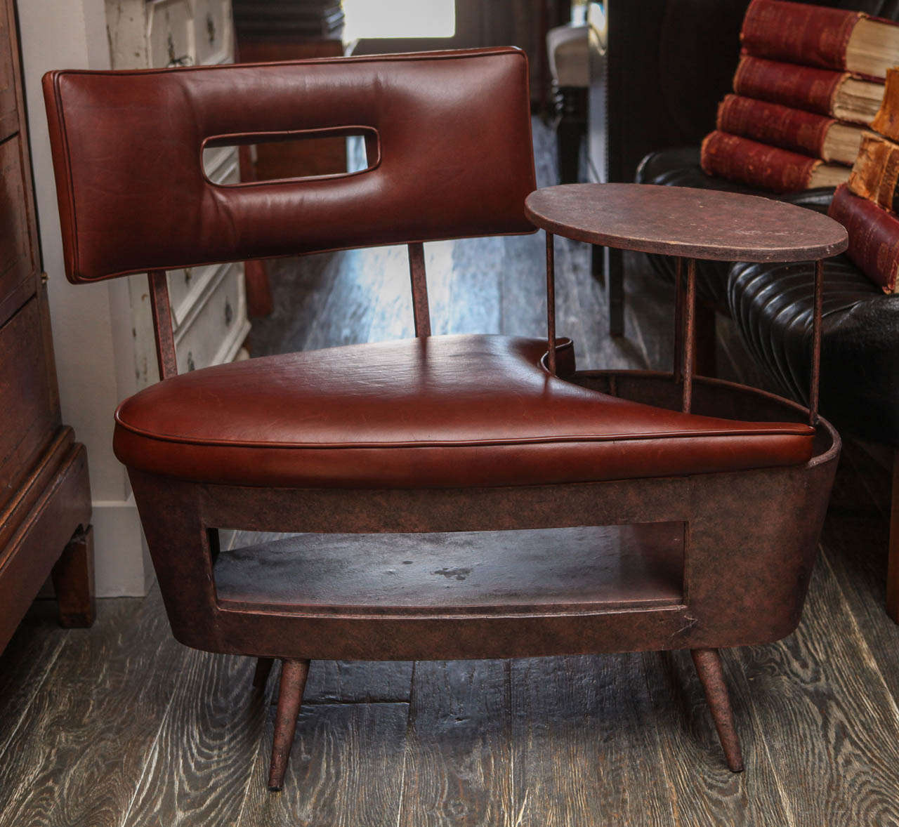 chair stool combo folding tent telephone with table at 1stdibs