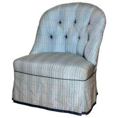 Upholstered Slipper Chair Avington Lounge Chairs For Sale Custom Quothadley Quot Contemporary At