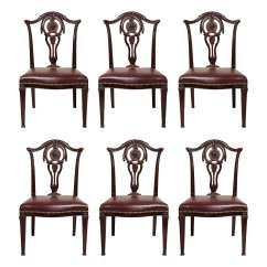 Set Of Six Dining Chairs For Sale Hanging Chair Stand Bunnings English Neoclassical At