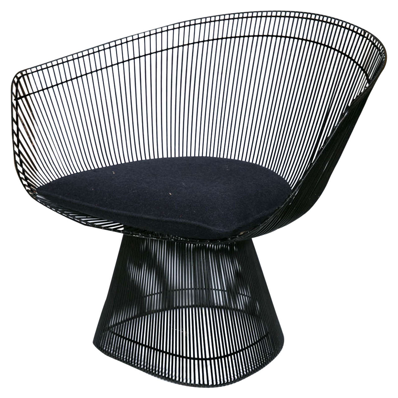 Midcentury Warren Platner Lounge Chair for Knoll at 1stdibs