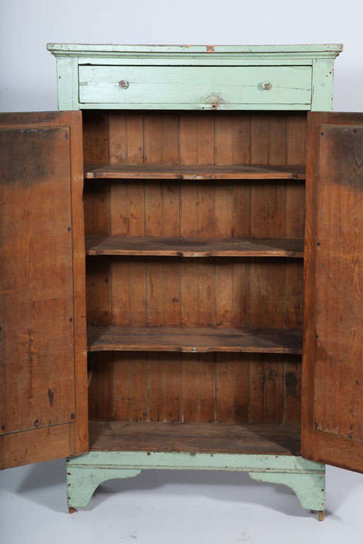kitchen cupboards for sale booth table primitive jelly cupboard at 1stdibs