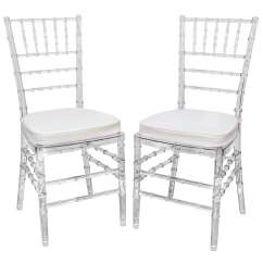 Acrylic Dining Chair Ikea Henriksdal Cover Set Of Eight Vintage Chairs With Bamboo Motif At